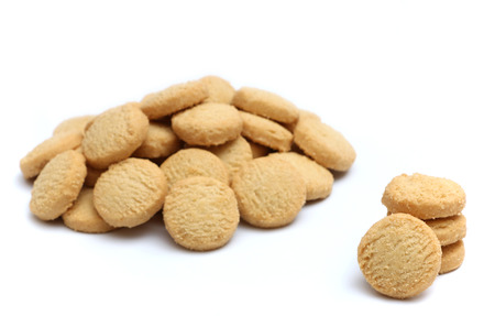 sugar cookie: Shortbread Cookies Stock Photo