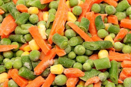 alimentos congelados: Verduras congeladas mixtas