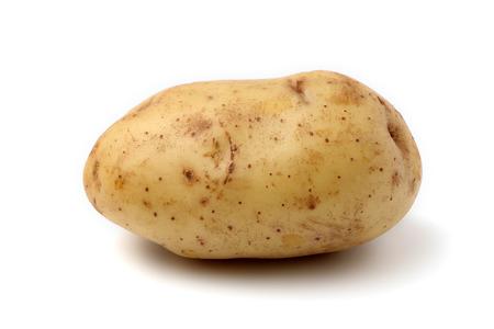 raw potato: Raw Potato Stock Photo