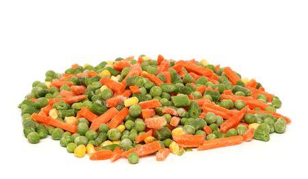 green been: Mixed Frozen Vegetables Stock Photo