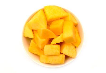 cubed: Bowl of Mango