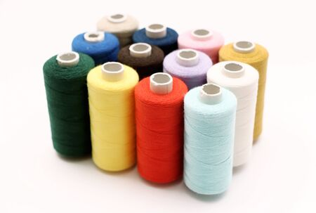 threads: Sewing Threads Stock Photo