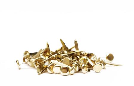 brads: Brass Fastener