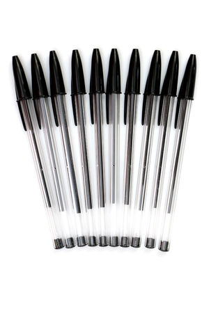 ball point: Ball Point Pens on white background