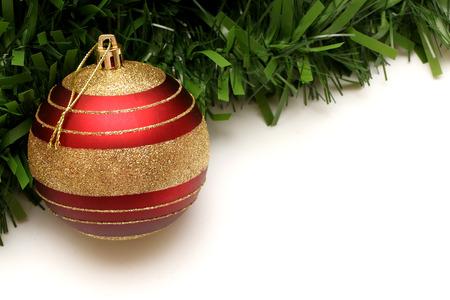 navidad: Decoración de Navidad  Foto de archivo