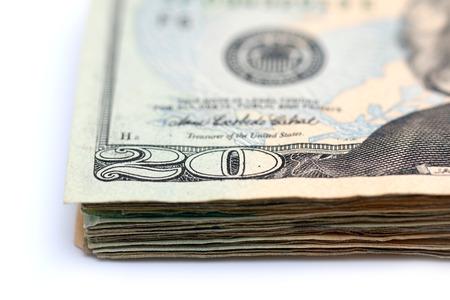 twenty: Twenty Dollar Bills