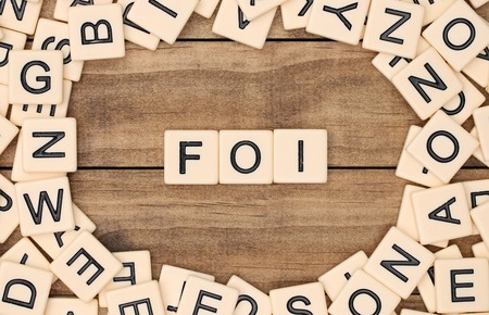 christian faith: Faith in French spelled out in tan tile letters