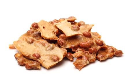 Peanut Brittle Stockfoto