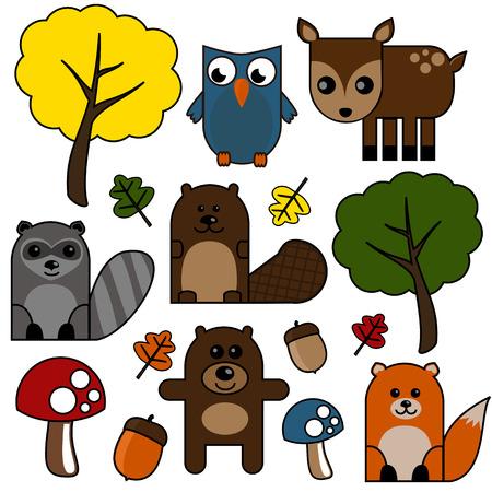 creatures: Woodland Creatures