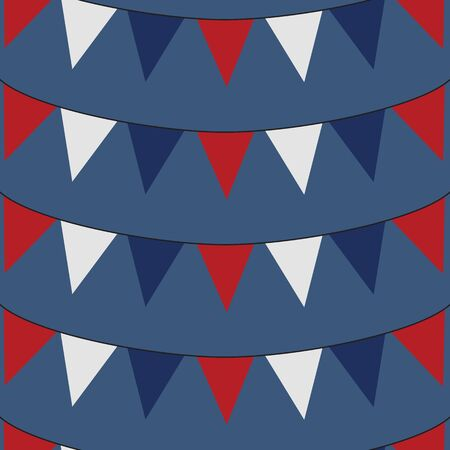 Red, White and Blue Bunting