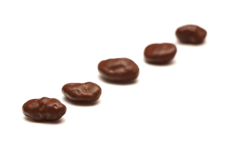 is covered: Chocolate Covered Raisins
