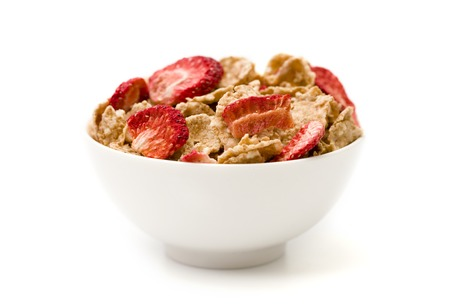 freeze dried: Breakfast Cereal Stock Photo