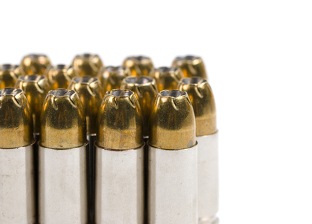 9mm ammo: Ammunition Stock Photo