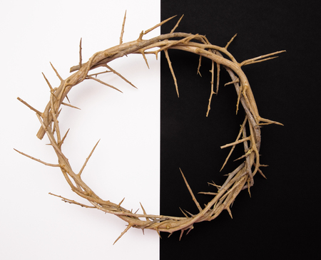 Jesus Crown of Thorns Stock Photo