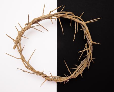 Jezus 'doornenkroon Stockfoto