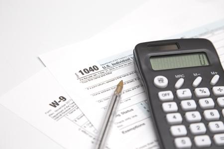 Paying Your Taxes Foto de archivo
