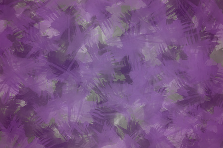 Purple Brush Stroked Background
