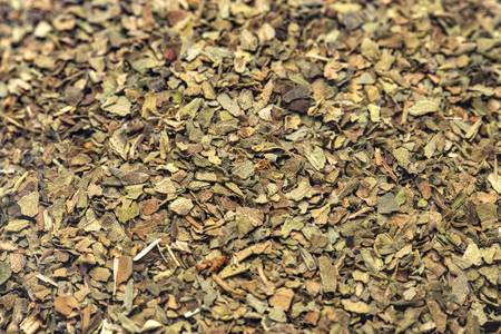 A Background of Dried Basil