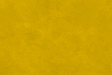 Bright Yellow Abstract Painted Canvas Background