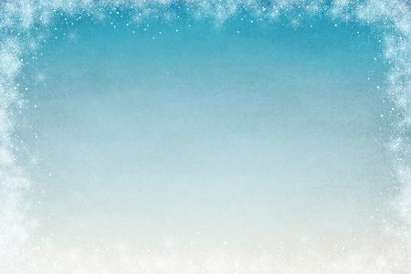 Winter Themed Background for Adding Text or Writing Stock Photo