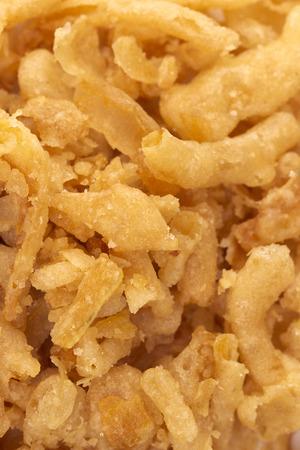 A Background of Crispy Fried Onions