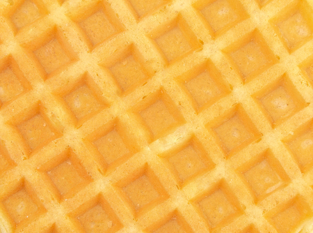 Round Waffles Background