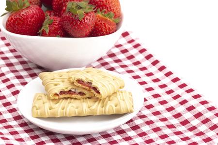 Breakfast Bar with strawberries