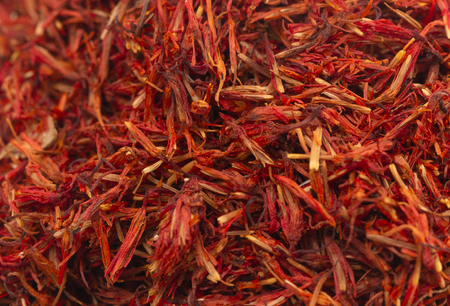 The Beautiful Red Spice of the Saffron Flower