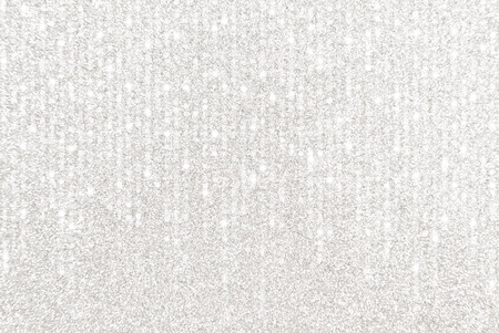 A Silver Glitter Border with Cascading Lights Imagens