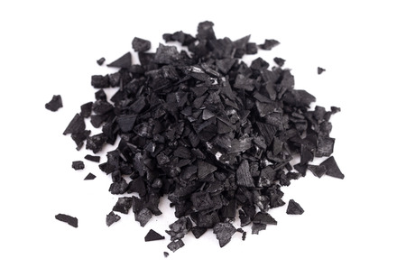 Pieces of Activated Charcoal a Wonderful Substance with Many Uses