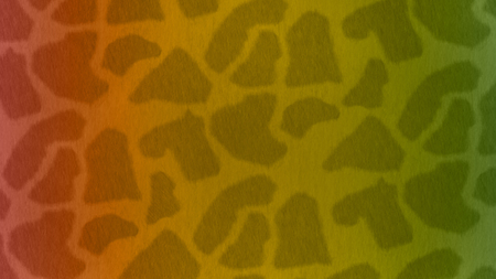 A Background of Giraffe Spots with African Flag Colors Foto de archivo - 119982952