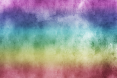 Gently Textured Colorful Watercolor Background 写真素材
