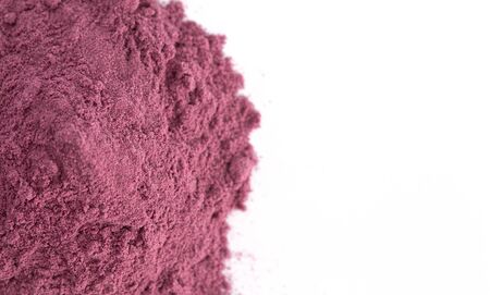Bright Colored Acai Berry Powder Perfect for Adding to Recipes like Smoothies
