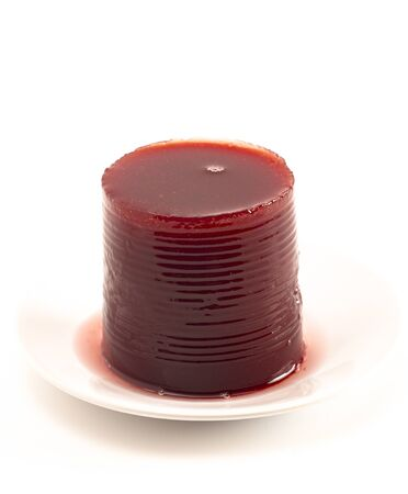 Smooth Jelly Cranberry Sauce From a Can