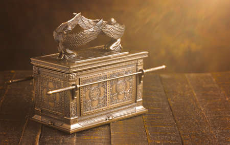 The Ark of the Covenant in Dramatic Sunlight