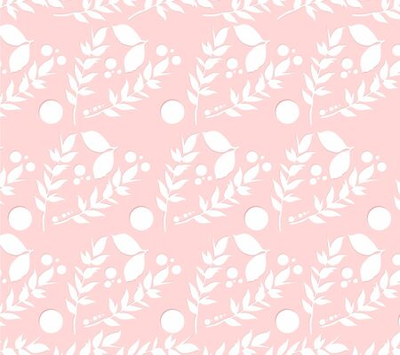 Abstract colorful exotic floral background. Tropical botanical motifs scattered random. Pattern vector texture. Fashion prints. Printing with in hand drawn style on stylish white