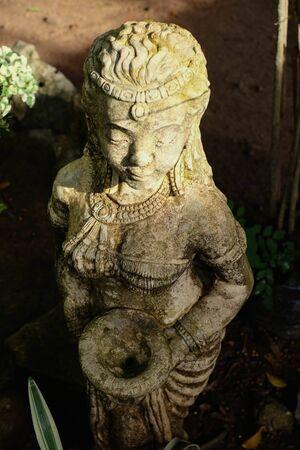 antique woman: antique woman figure