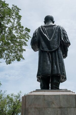 tradional: Statue of M.L.Pin Malakul Back at the Silpakorn University Memorial