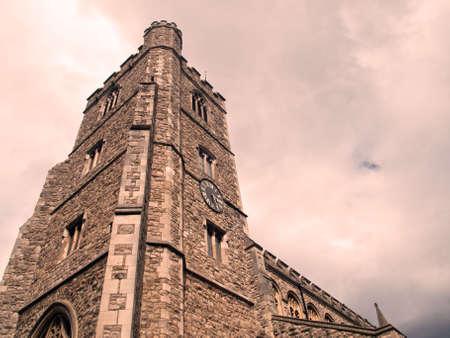 putney: All Saints Church Stock Photo