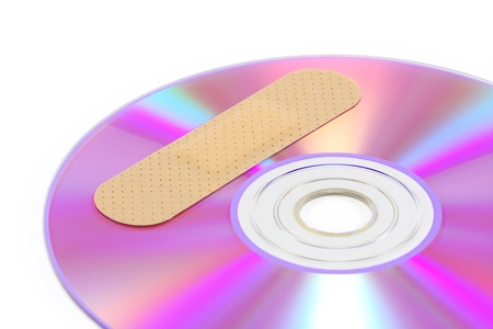 Patched software CD/DVD Stock Photo - 9263725