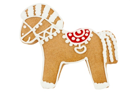 Gingerbread horse