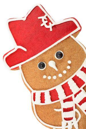 gingerbread man: Gingerbread snowman