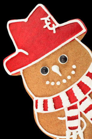 Gingerbread snowman Stock Photo - 9306273