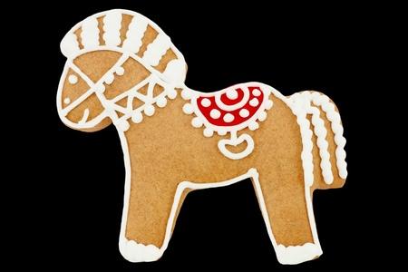 Gingerbread horse photo
