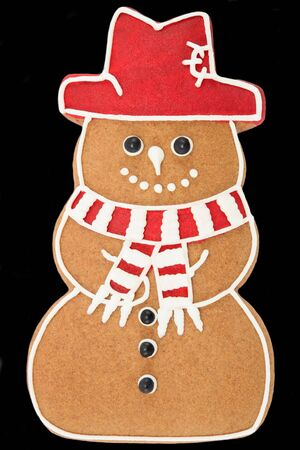 Gingerbread snowman Stock Photo - 9388754