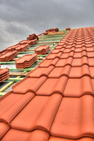 Tiled Roof Stock Photo - 9430067