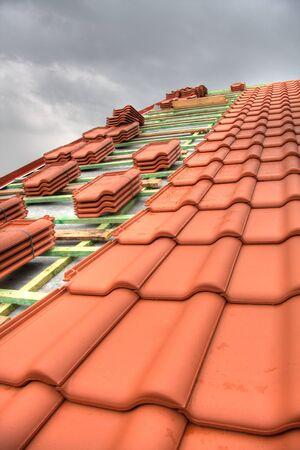 roof tile: Tiled Roof