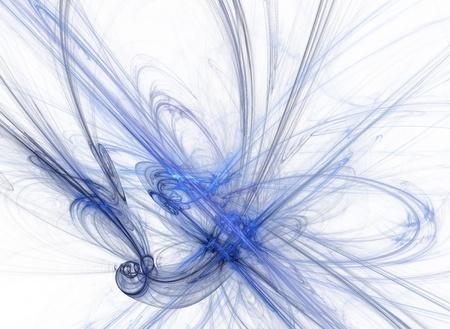Blue splash photo