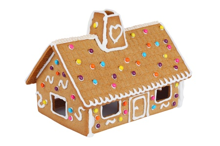 Gingerbread House Standard-Bild