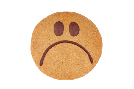 Gingerbread smiley photo